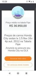 Honda City Lx - 2012