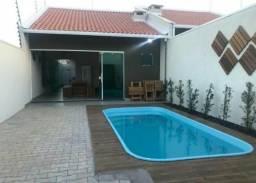 Casa linda com entrada 9.000,00r$