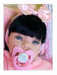 Bebê Reborn Toda Em Silicone