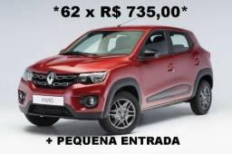 Renault Kwid Parcelado - 2020