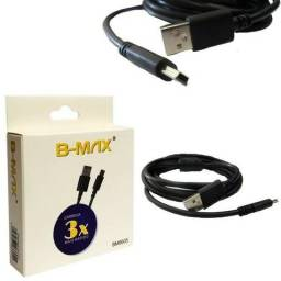 Cabo V3 Mini USB com Filtro 1,80m - Controle PS3 GPS Camera Digital - Loja Natan Abreu
