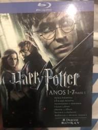 Coleção blu Ray Harry Potter comprar usado  Rio de Janeiro