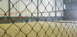 Escola de beach tennis com quadras para locação, em Garopaba, Santa Catarina