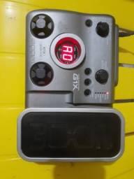 Pedaleira zoom g1x com ritomos e pedal de expressão