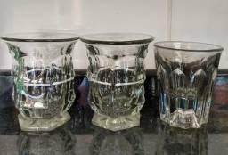 3 copos Trabalhados