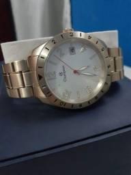 Relógio análogico de pulso Champion Dourado