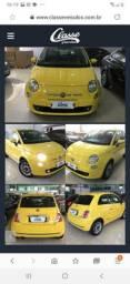 Fiat 500espot com multimídia.