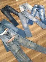 Calças jeans tam 36 marcas diversas