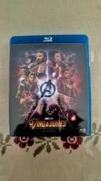 Blu-ray disc Vingadores Guerra Infinita