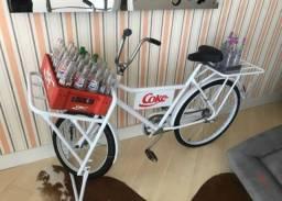 Bicicleta restaurada de carga