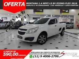 Chevrolet Montana 1.4 Mpfi LS 8v Econo.Flex Completa Baixa KM