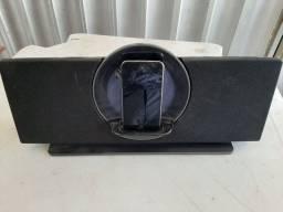 Ipod touch com caixa de som