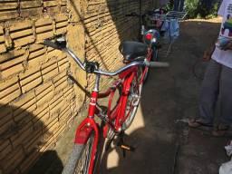 Bicicleta estado zera com vários acessórios