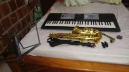 Saxofone startone+ teclado yamaha