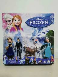 Kit 5 miniaturas Frozen