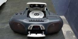 Micro System CD/TocaFitas K7/Rádio