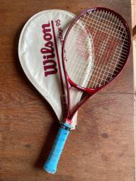 Raquete tennis reliquia wilson jr. Advantage 95