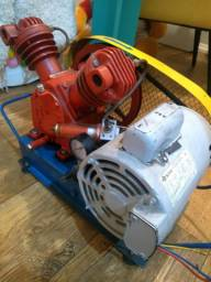 Compressor + Motor (Ideal para poço artesiano)
