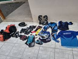 Equipamentos trilha completo R$ 1.000 Lages-sc