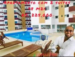 Apartamentos amplo na  zona sul  com 2 suites!