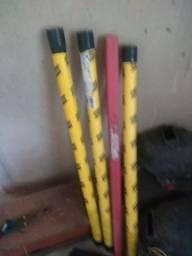 Vêndo quatro tubo de vareta para soldar tig