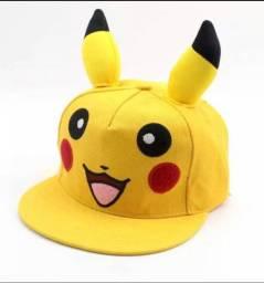 Boné do Pikachu para criança