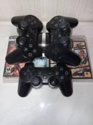 Jogos e controles para PS3