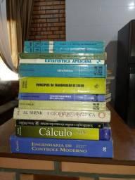 Livros de cálculo e Engenharia