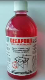 Decapoxil transforma a ferrugem em uma camada protetora