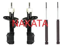 Kit 4 amortecedores Nakata Honda fit 2003 ao 2008