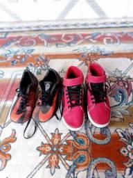 Tênis Nike basqueteiro e chuteira Nike cr7