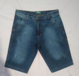 Short jeans masculino.Direto<br>de fábrica!