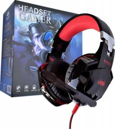 Headset gamer com led kp-455A