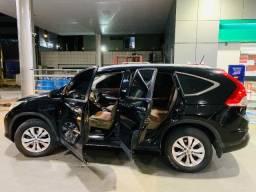 CRV 4X4 EXL T3T0 S0LAR 2012 2.0 AUT0MATlCA flex ,revisada,pneus semi novos,C0UR0 BEGE
