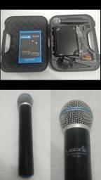 Microfone s/ Fio de Mão - uhf uh-01M Lyco