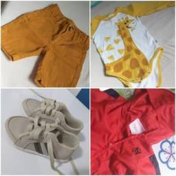 Desapegos de roupas infantis