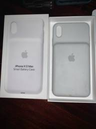 Capa Carregadora Para iPhone XS Max Original Apple + Brindes