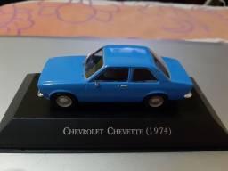 Miniatura Chevrolet Chevette modelo 1974