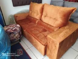 Sofá retratil e reclinável com Qualidade