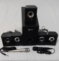 Vendo caixas de Home theater Lenoxx