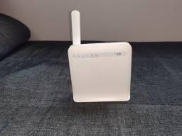 Roteador 3G / 4G ZTE Mf253V - Com Saída Para Antena Rural Externa Com o Rural.