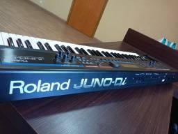 Teclado Roland Juno Di com case luxo