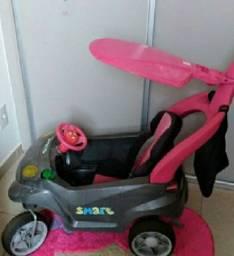 carrinho smart feminino de passeio bandeirante três meses de uso