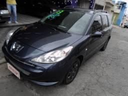 Peugeot 207 sw xr 1.4 flex,completo ,aceito troca, financio em até 48x