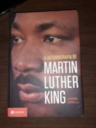 Livro Autobiografia de Martin Luther King.