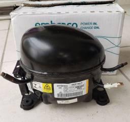 Compressor + Mangueira para Pintura e Encher Pneus Embraco EM2P 70CLP 220V