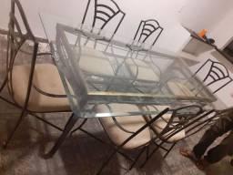 Vendo mesa de ferro