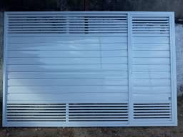 Portões, esquadrias, vidraçaria, energia solar...