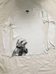 Camiseta armani foquinha