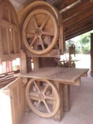 Serra fita de madeira